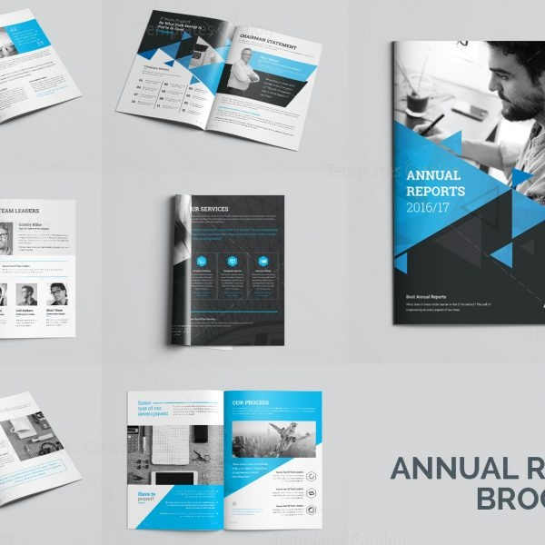 Elegant Professional Pages Brochure Template Template - Brochure template for pages