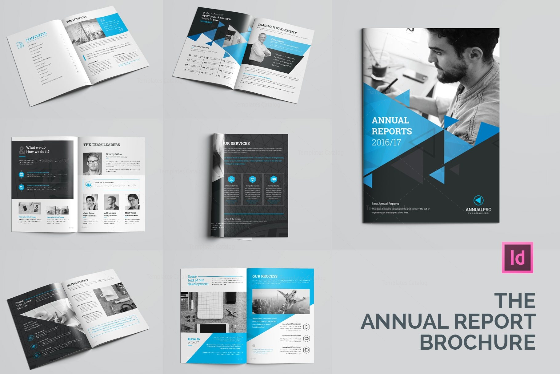 Elegant Professional Pages Brochure Template Template - Pages brochure template