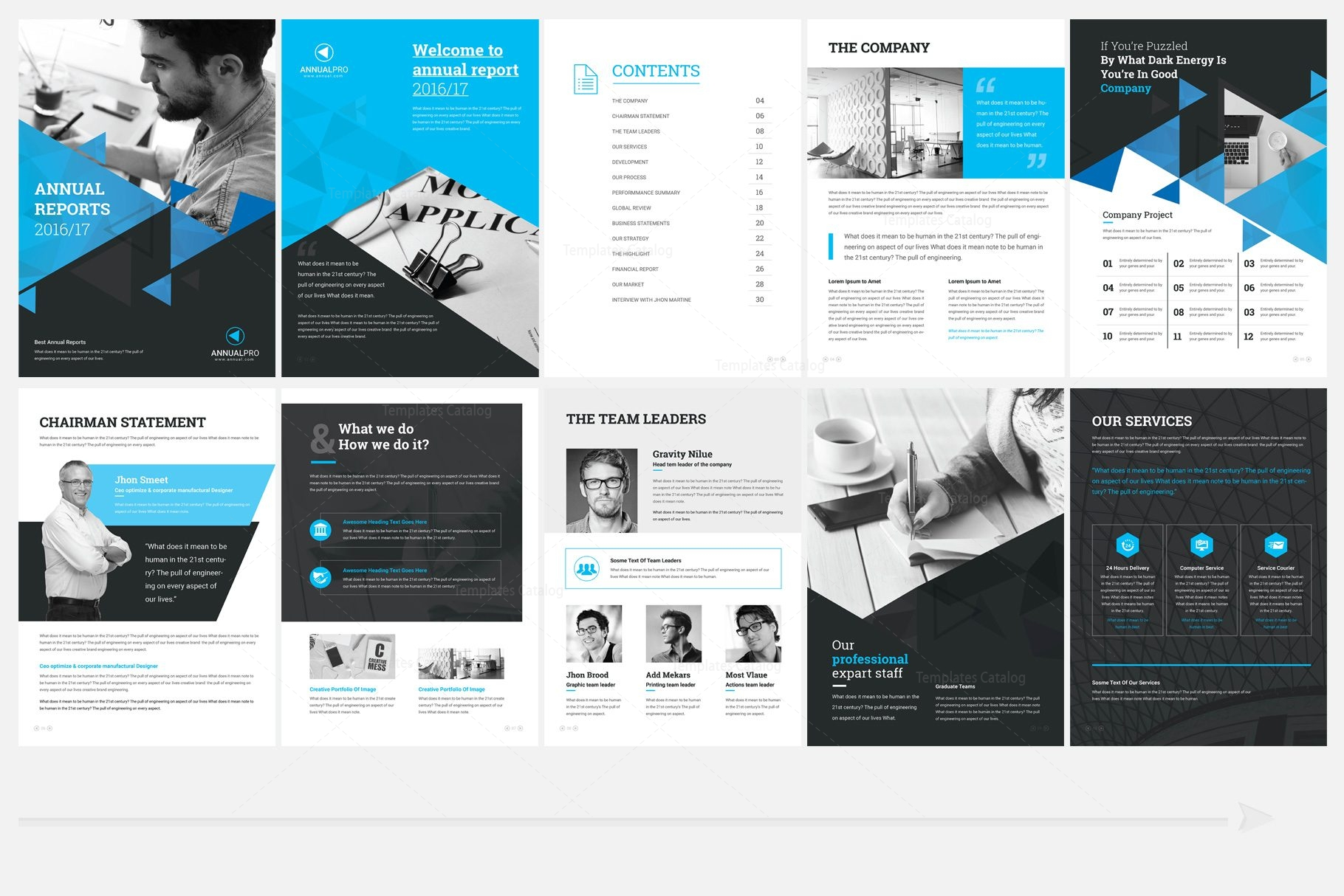 elegant professional 32 pages brochure template 000960 template