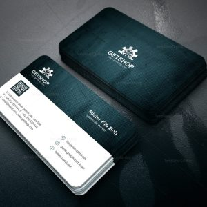 Fabric Modern Corporate Business Card Template
