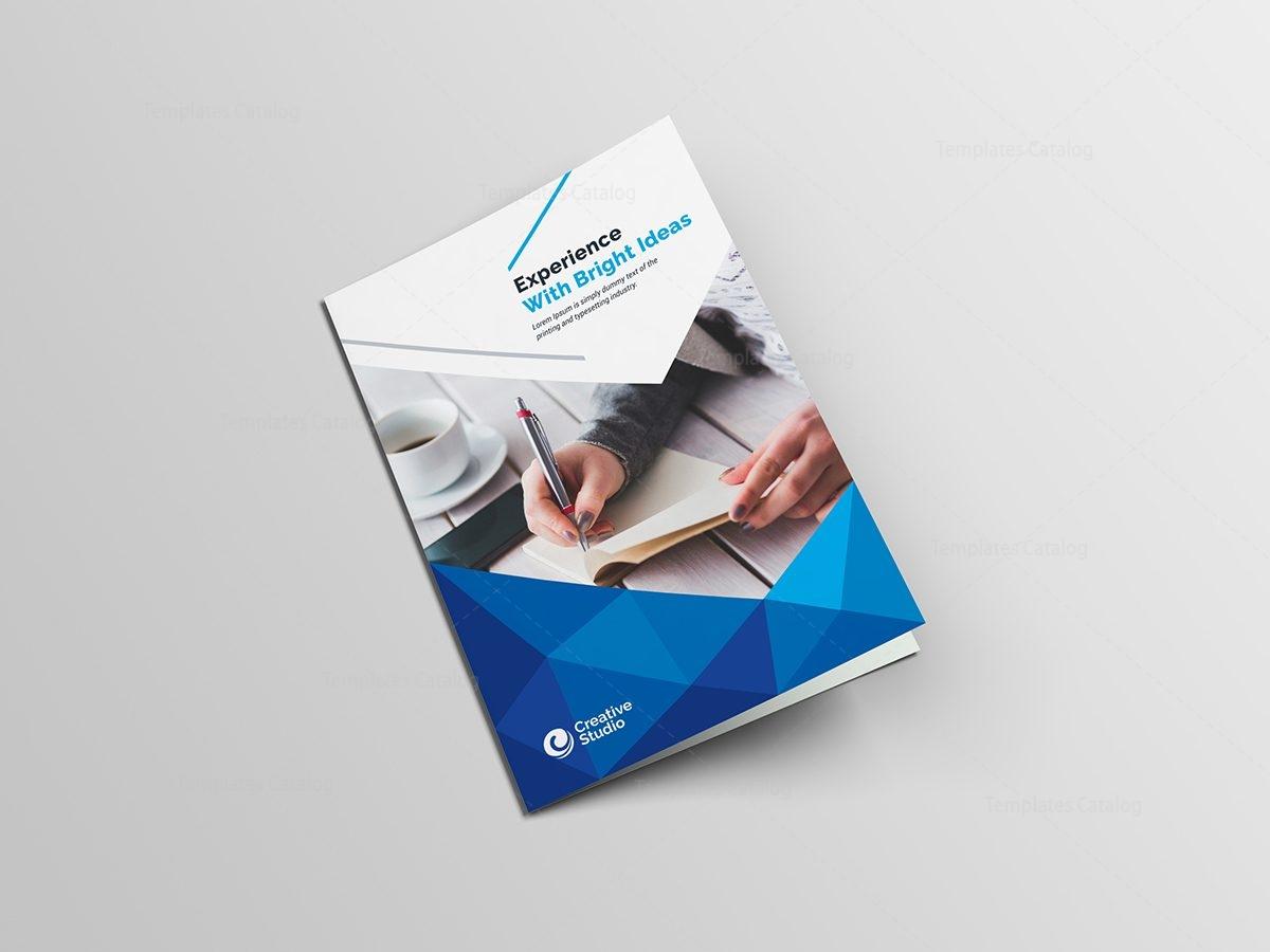 Godlike Elegant BiFold Brochure Template Template Catalog - Elegant brochure templates