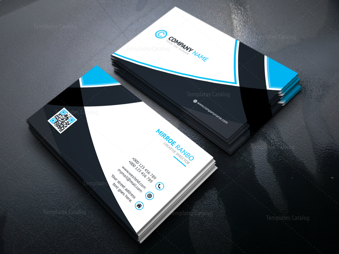 Hades modern corporate business card template 000921 template catalog hades modern corporate business card template 4 fbccfo Image collections