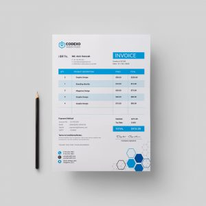 Hexagon Premium Corporate Invoice Template