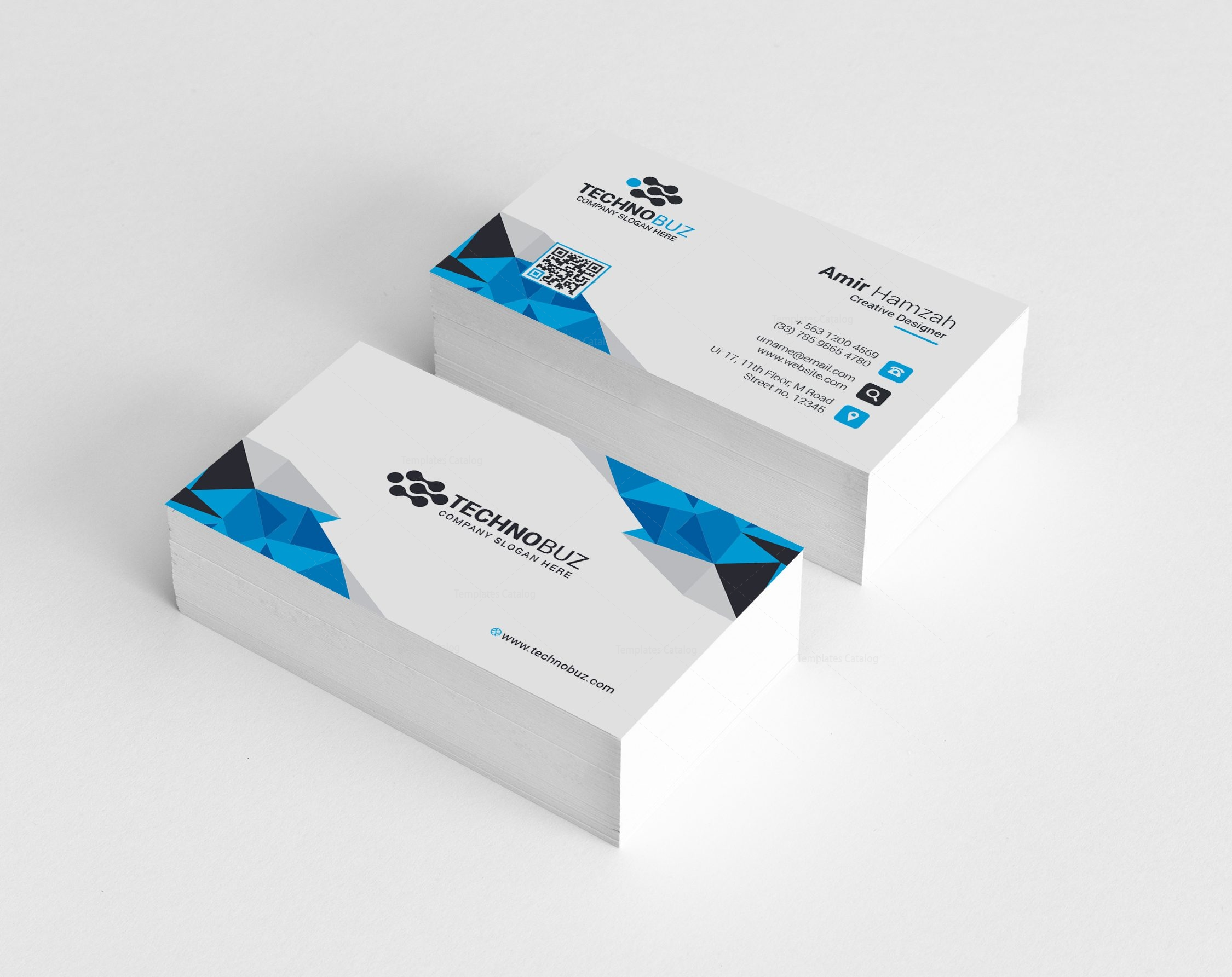 Hypnos Elegant Corporate Business Card Template 000819 - Template ...