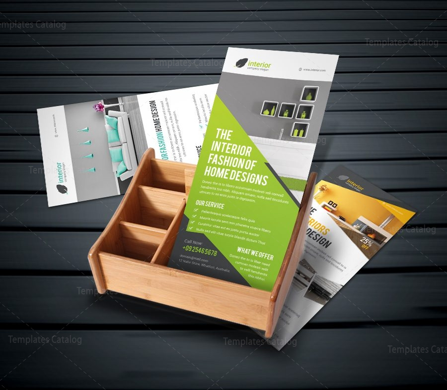 interior home design rack card template 000956 template catalog. Black Bedroom Furniture Sets. Home Design Ideas