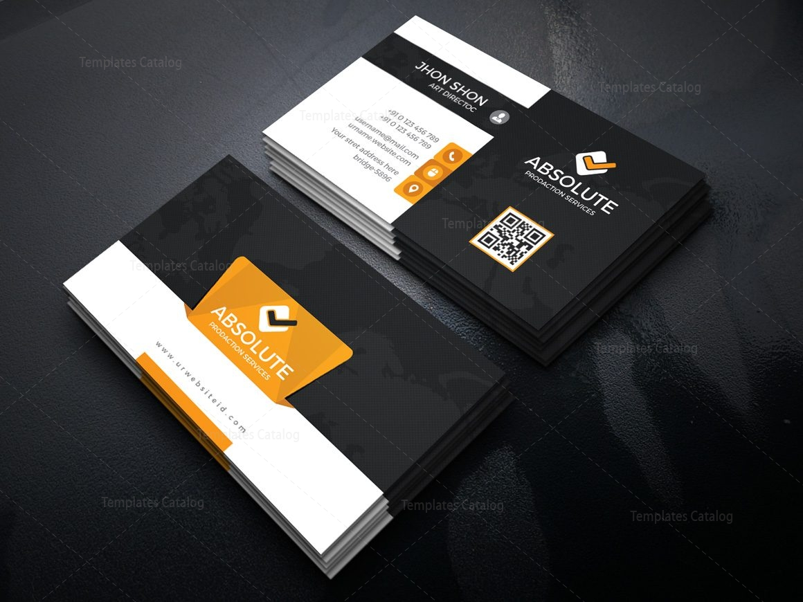 Krypton Stylish Corporate Business Card Template 000939 - Template ...