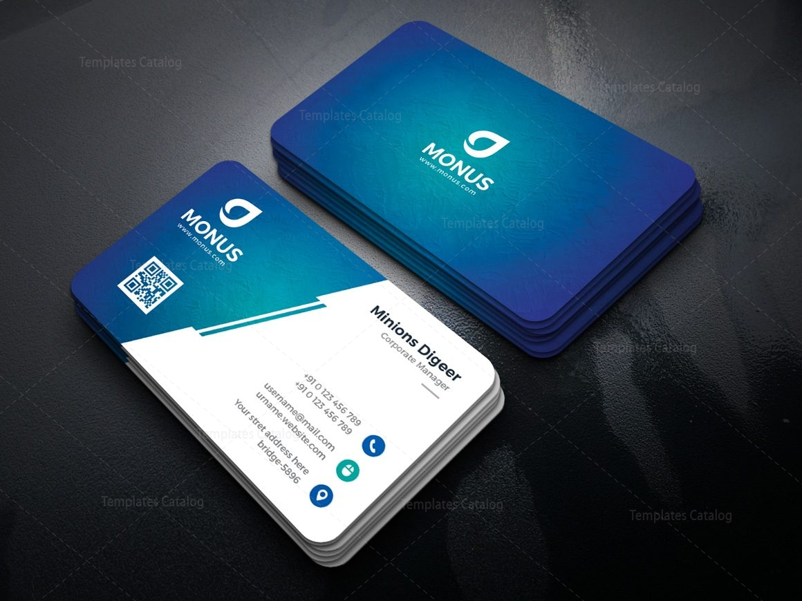 Lagoon Professional Corporate Business Card Template 000946 ...