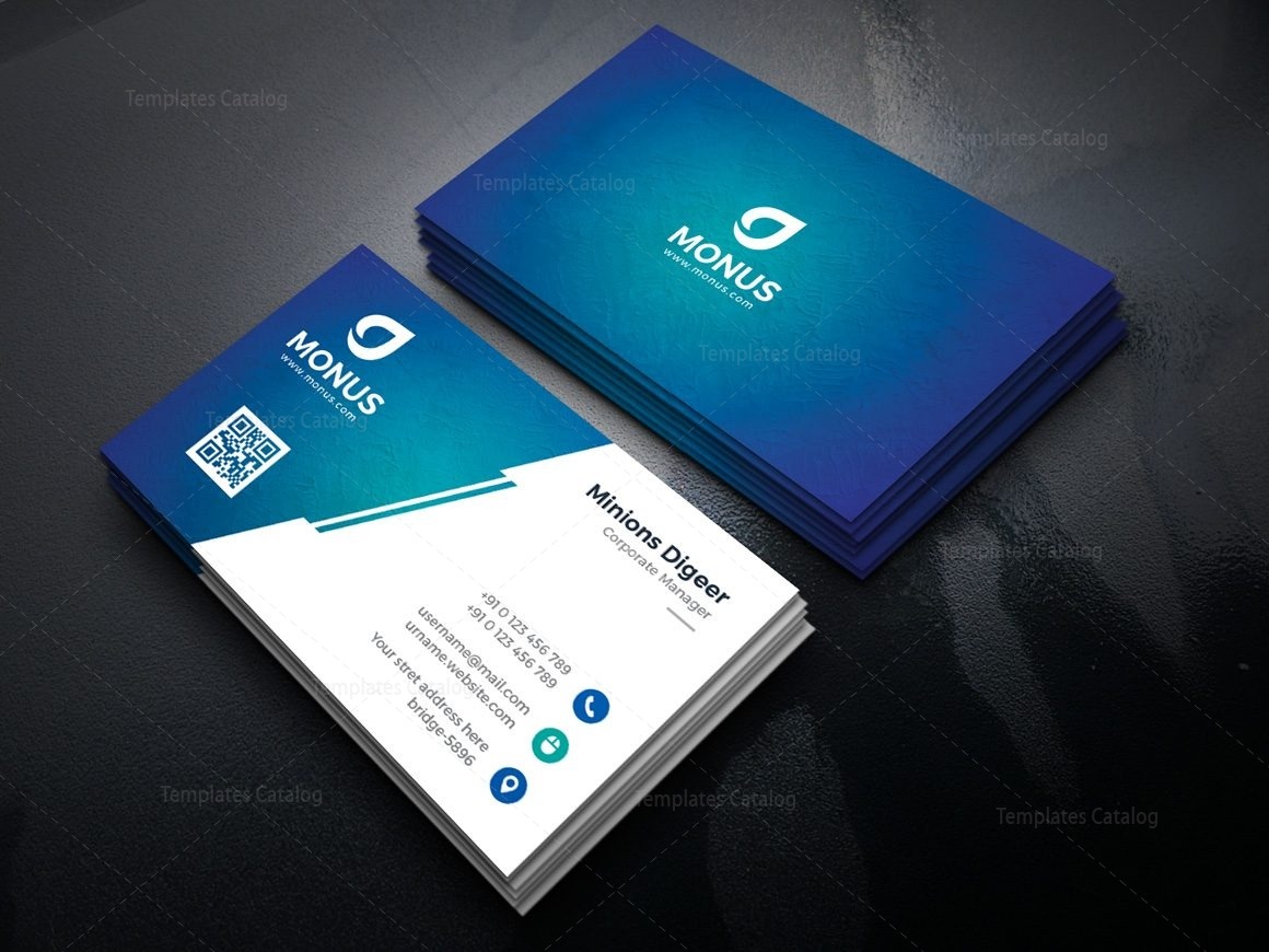 lagoon professional corporate business card template 2