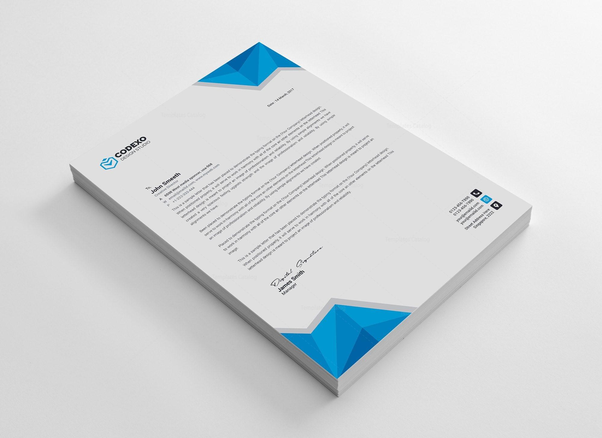 professional letterhead format leo professional letterhead template 100 template catalog 44