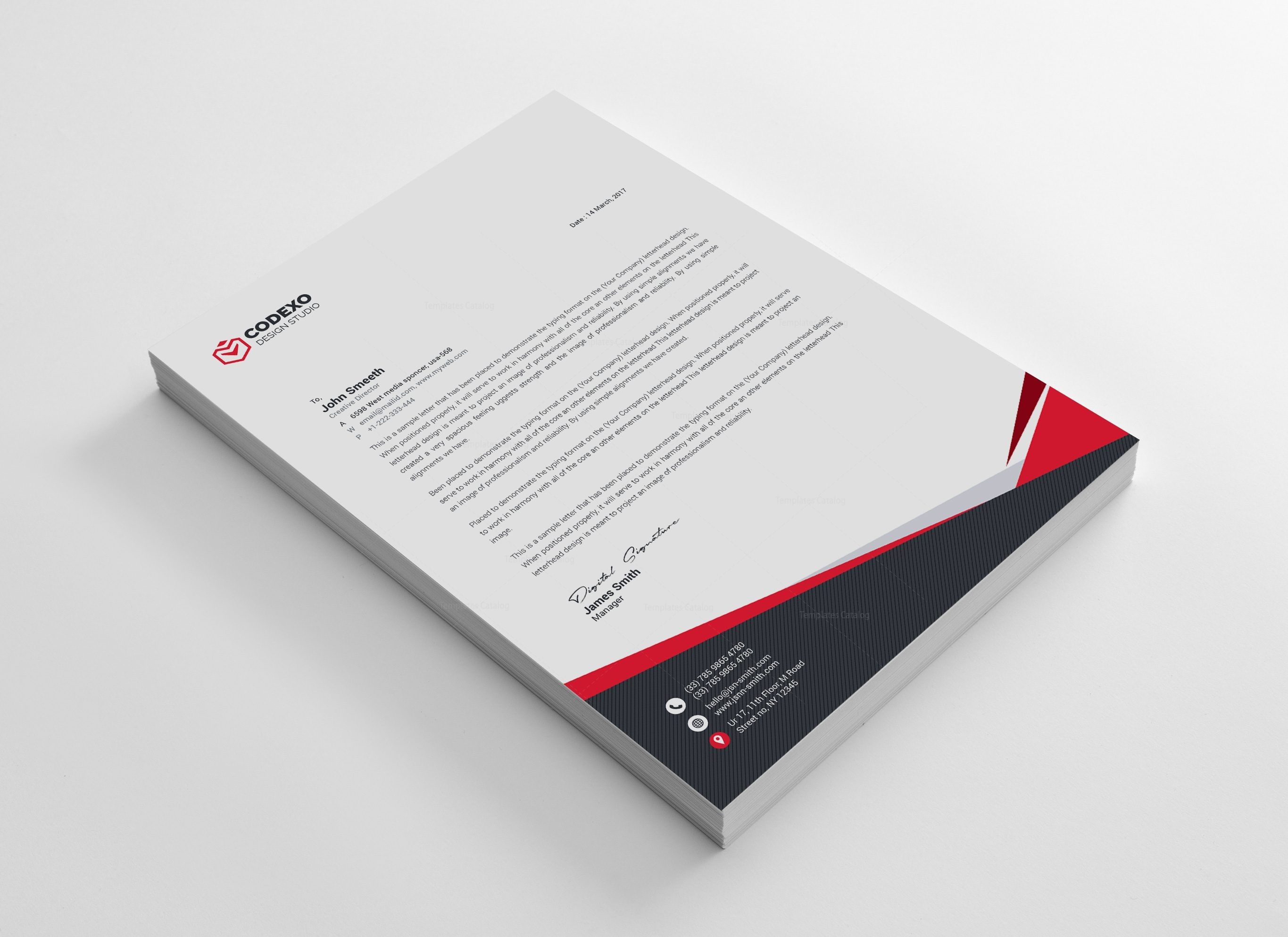 Mira professional corporate letterhead template 000908 template mira professional corporate letterhead template 4 reheart Image collections
