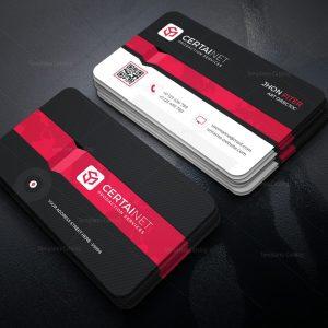 Phosphor Elegant Corporate Business Card Template