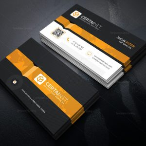 Phosphor Elegant Corporate Business Card Template