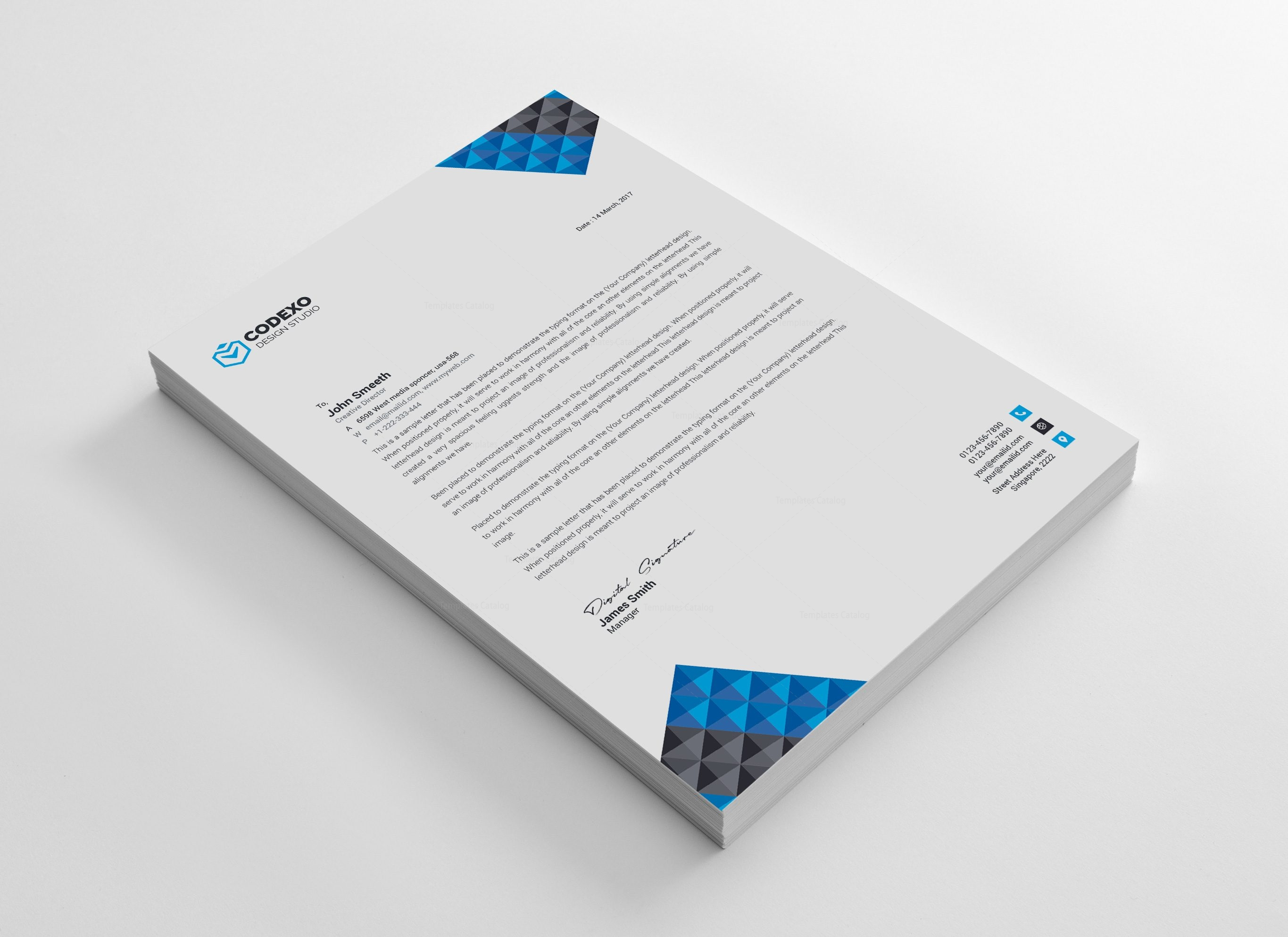 professional letterhead templates thevillas co