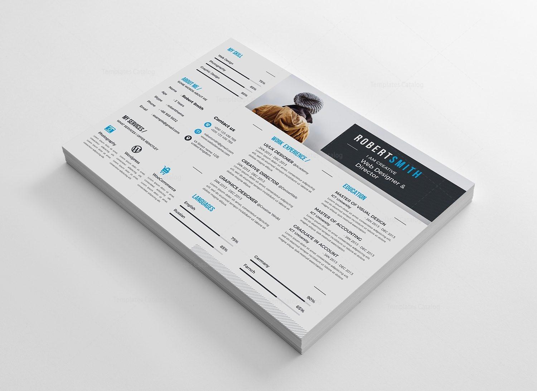 thor landscape premium resume template 000918