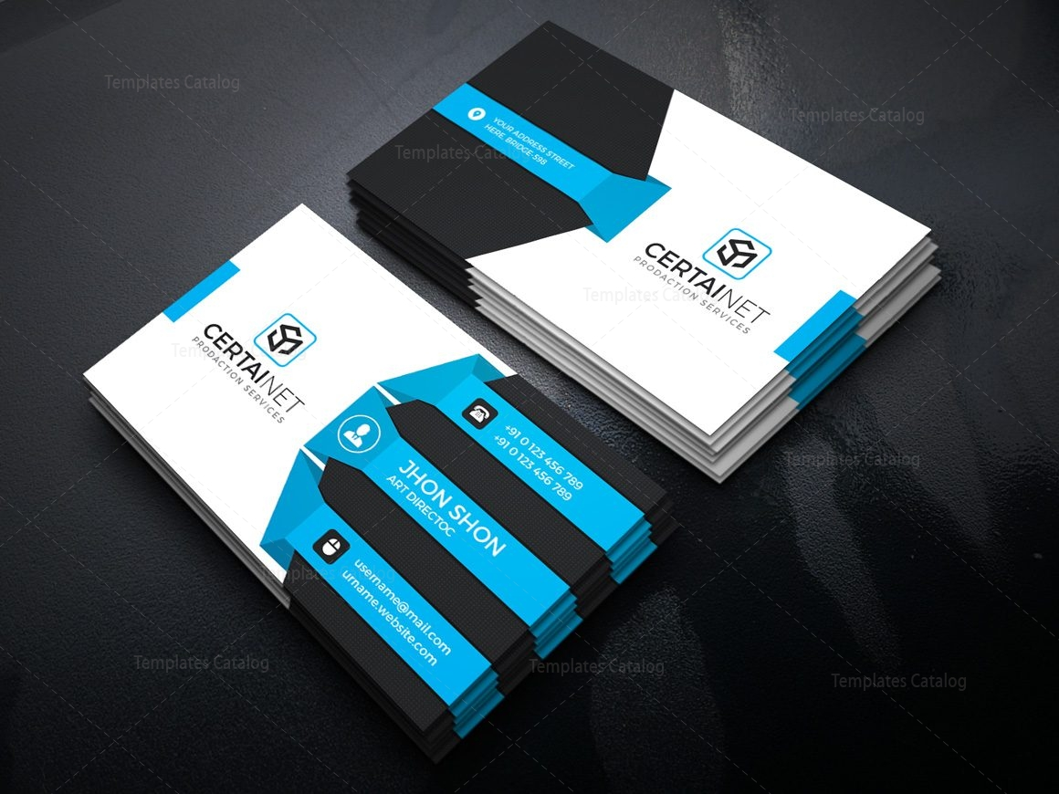 Titanium stylish corporate business card template 000938 template titanium stylish corporate business card template 2 accmission Image collections
