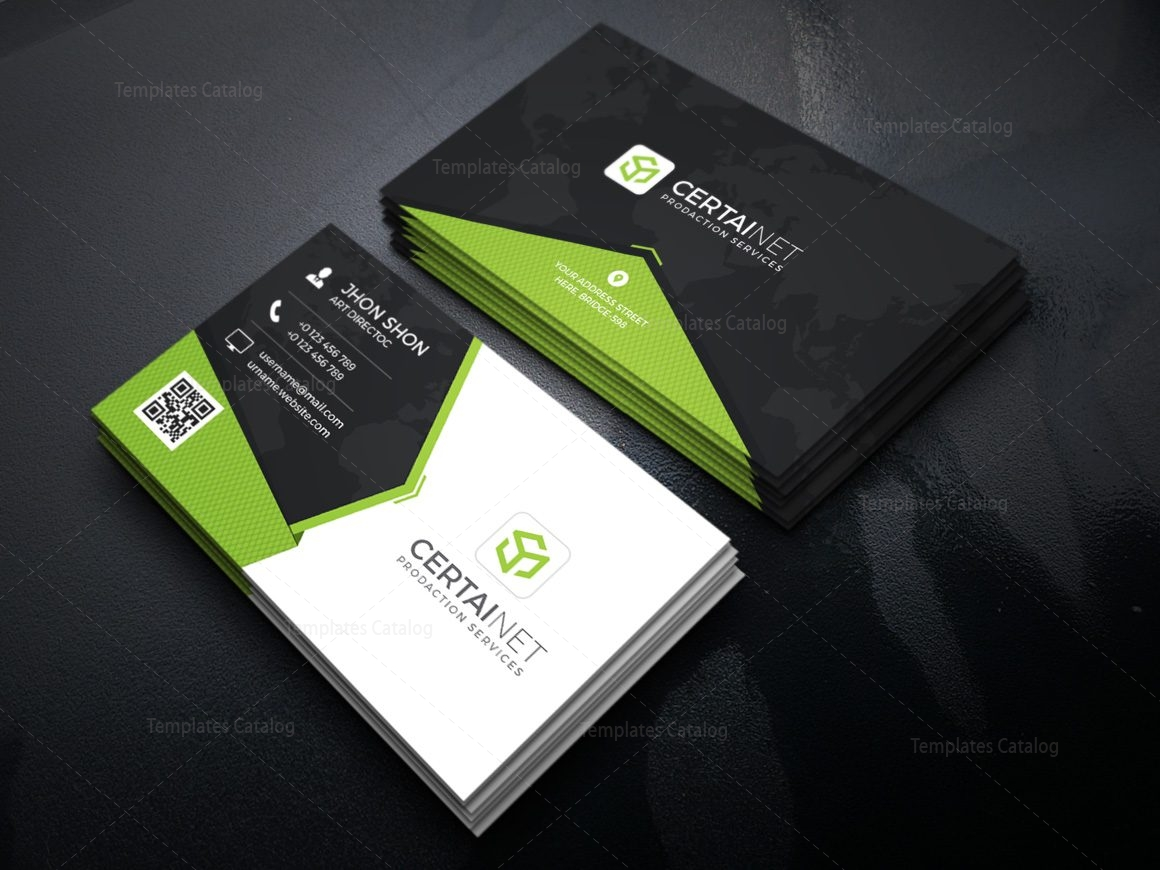 Twilight Elegant Corporate Business Card Template 000928 - Template ...