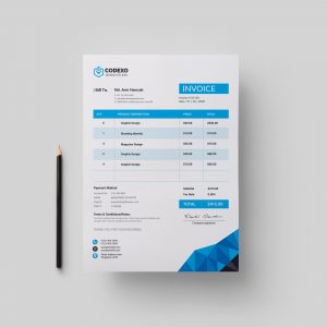 Zeus Premium Corporate Invoice Template