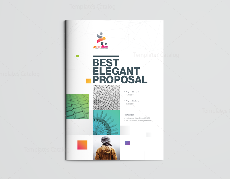 16 pages best elegant proposal template 1