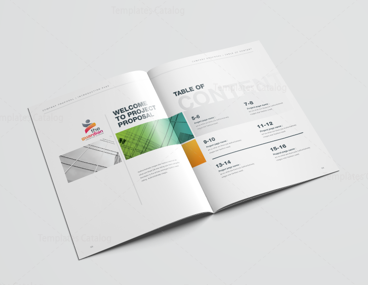 16 pages best elegant proposal template 3