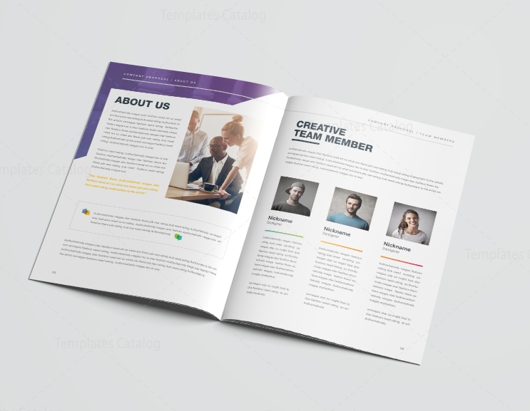 16 pages best elegant proposal template 4