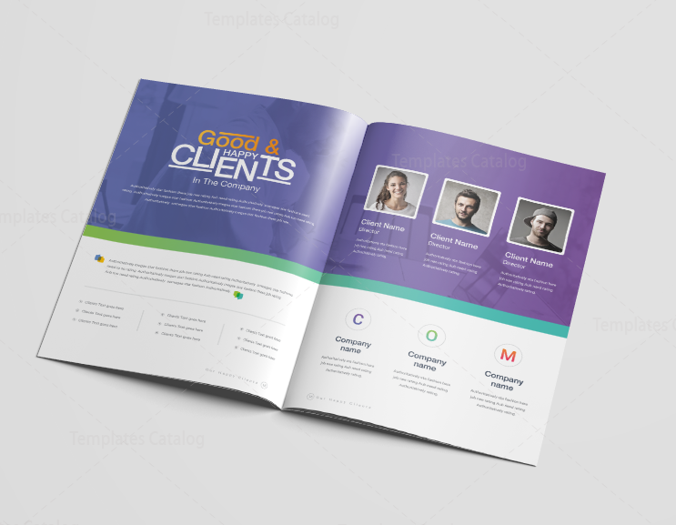 16 Pages Diamond Professional Corporate Brochure Template 001198