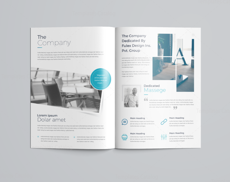 16 Pages Elegant Company Profile Template 3  It Company Profile Template