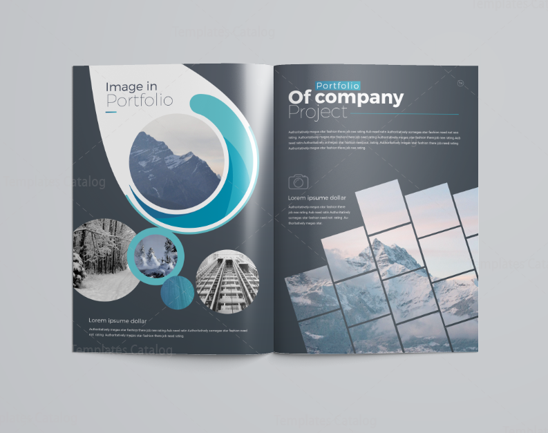16 Pages Elegant Company Profile Template 001114 - Template Catalog