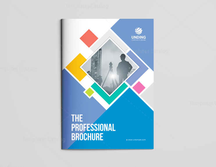 16 pages neptune elegant corporate brochure template 001193