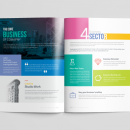 16 Pages Neptune Elegant Corporate Brochure Template 4