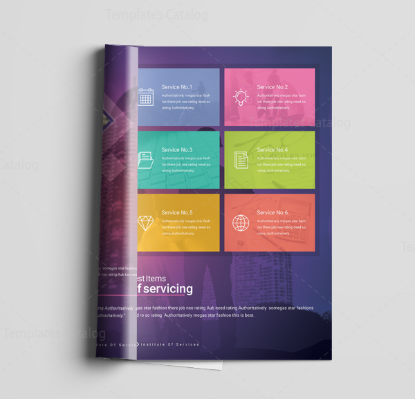 16 Pages Neptune Elegant Corporate Brochure Template 6