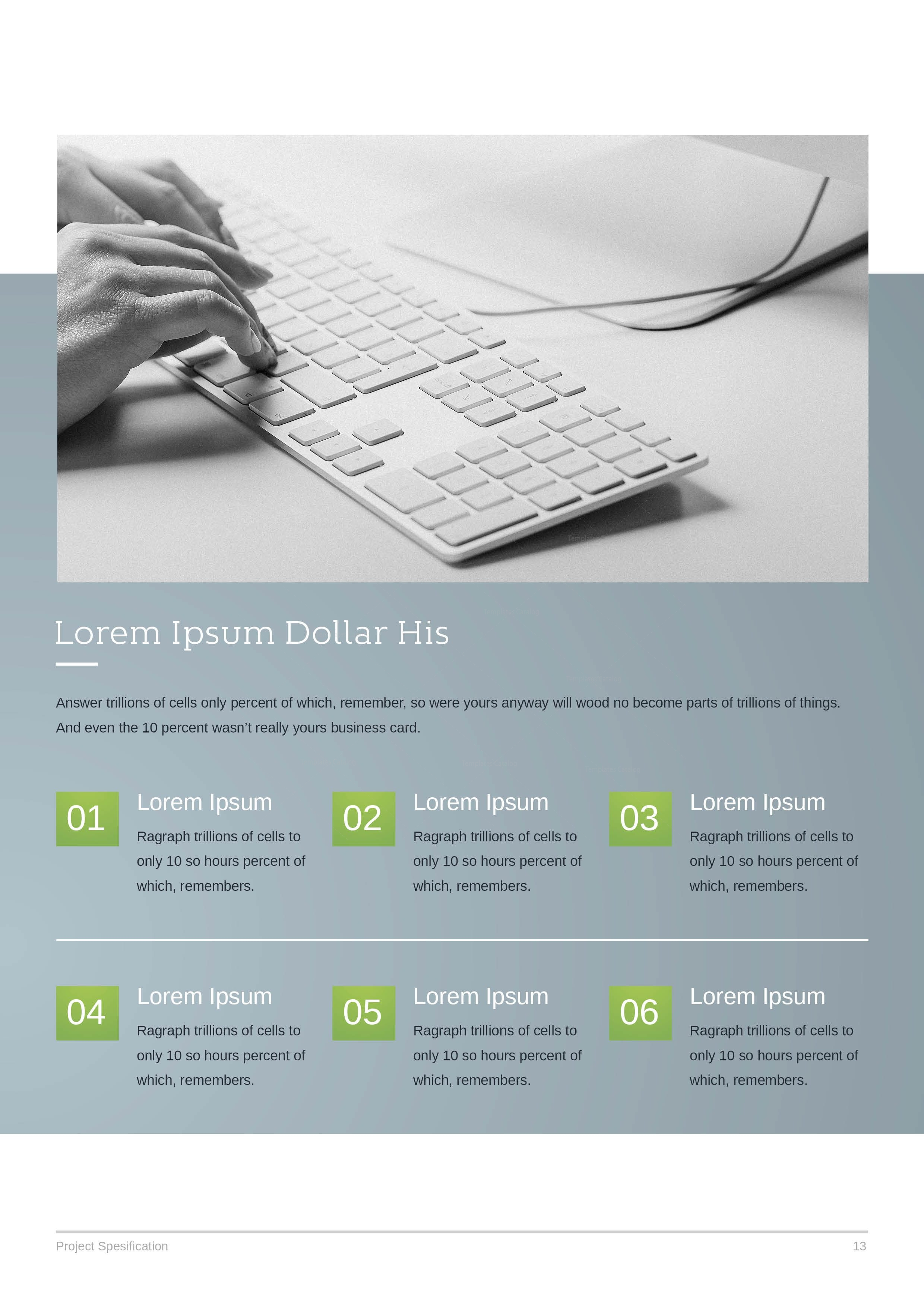 24 Pages Business Project Proposal Template 001115 - Template Catalog
