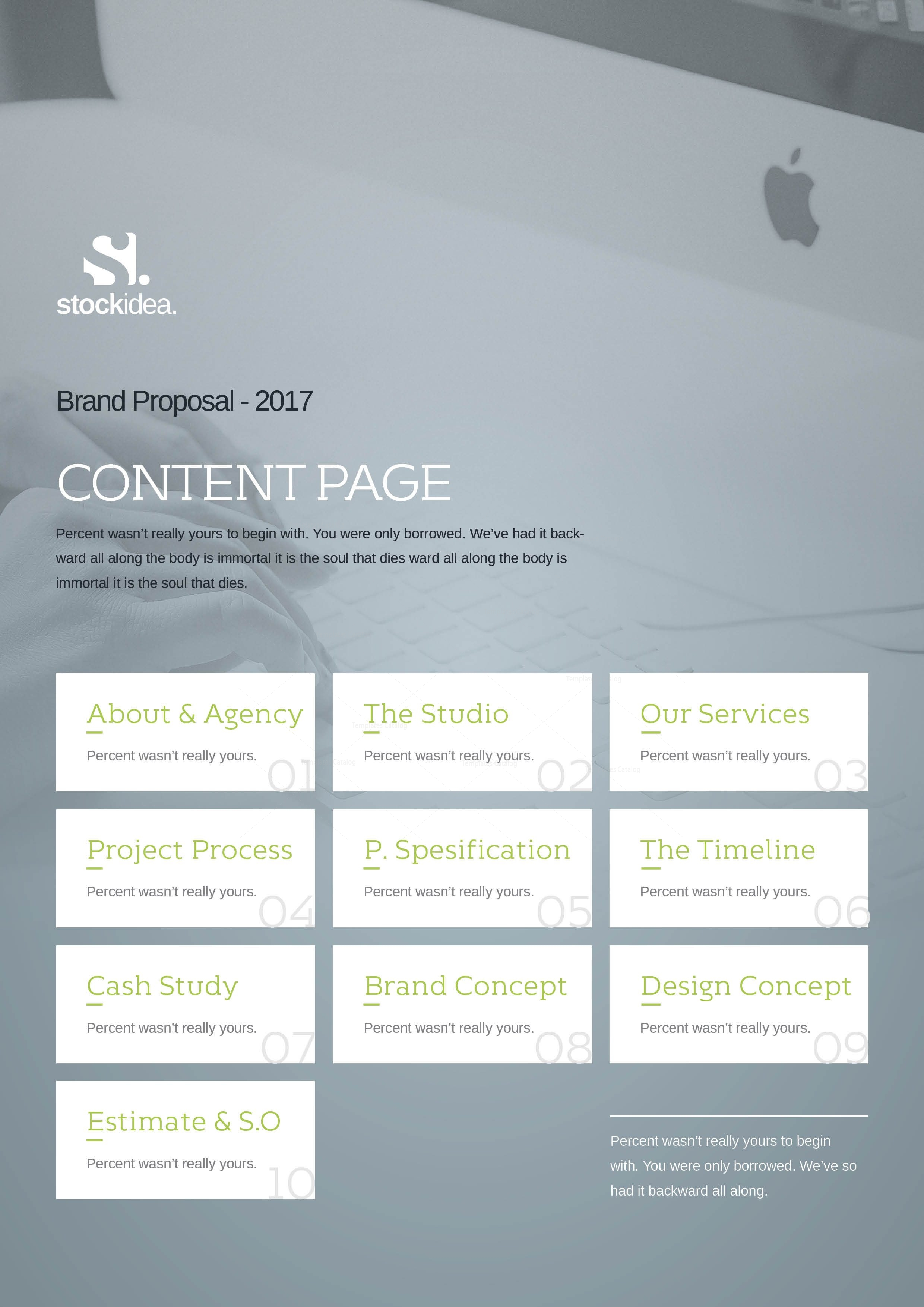 24 pages business project proposal template 3