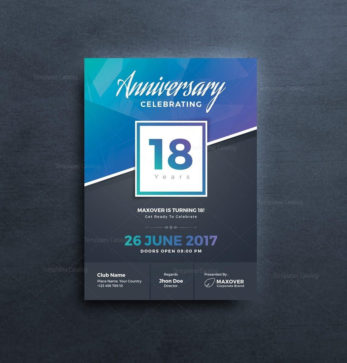 Apollo elegant anniversary invitation template 001125 template catalog apollo elegant anniversary invitation template 3 stopboris Images
