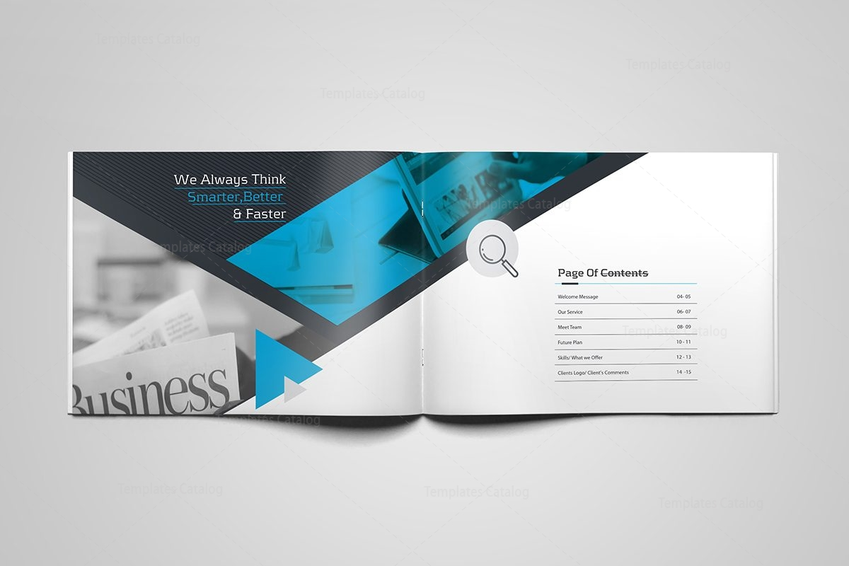 Ares professional 16 pages landscape magazine template 001106 ares professional 16 pages landscape magazine template 3 cheaphphosting Images