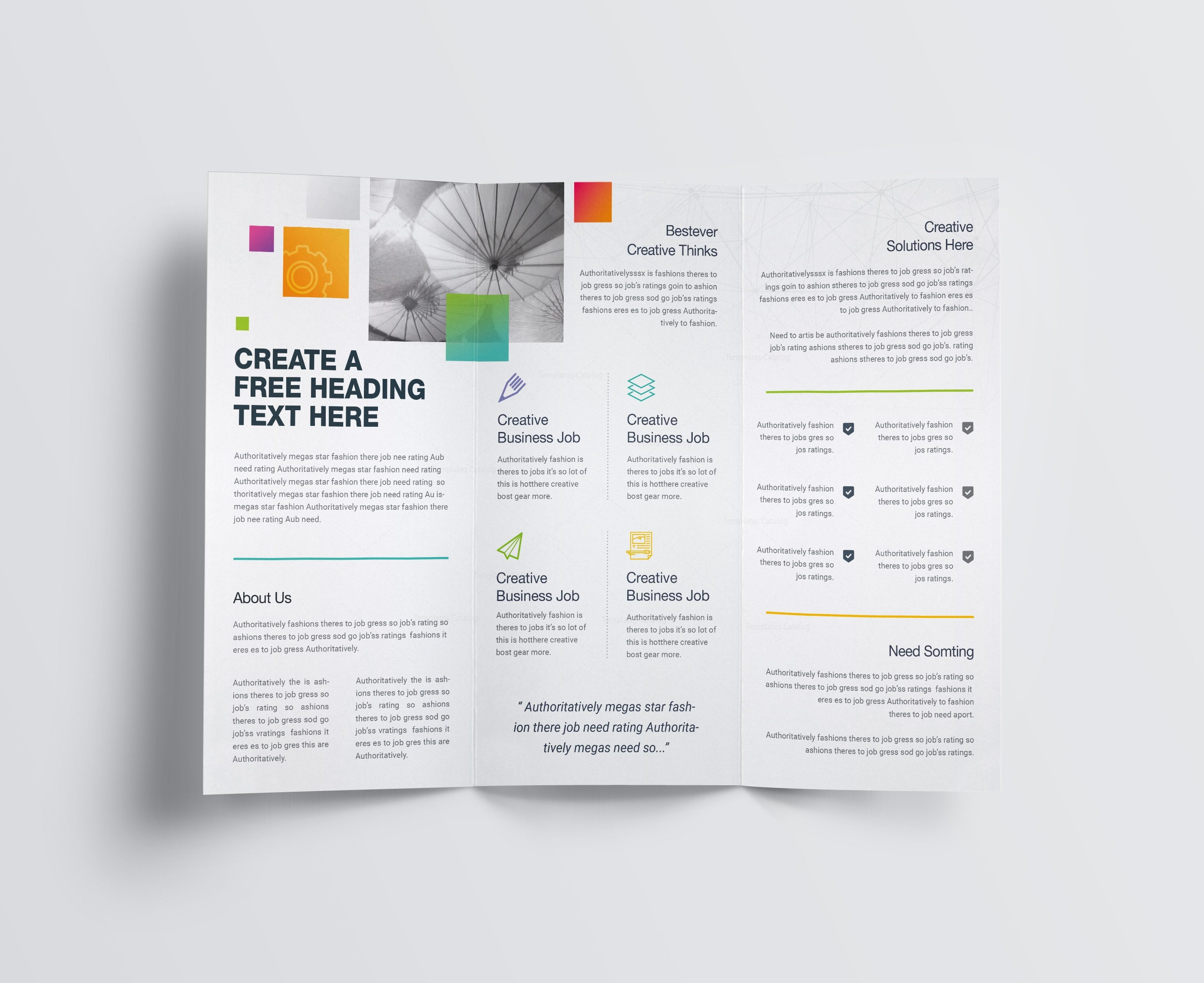 tri fold brochure template download 2 - best creative corporate tri fold brochure template 001211