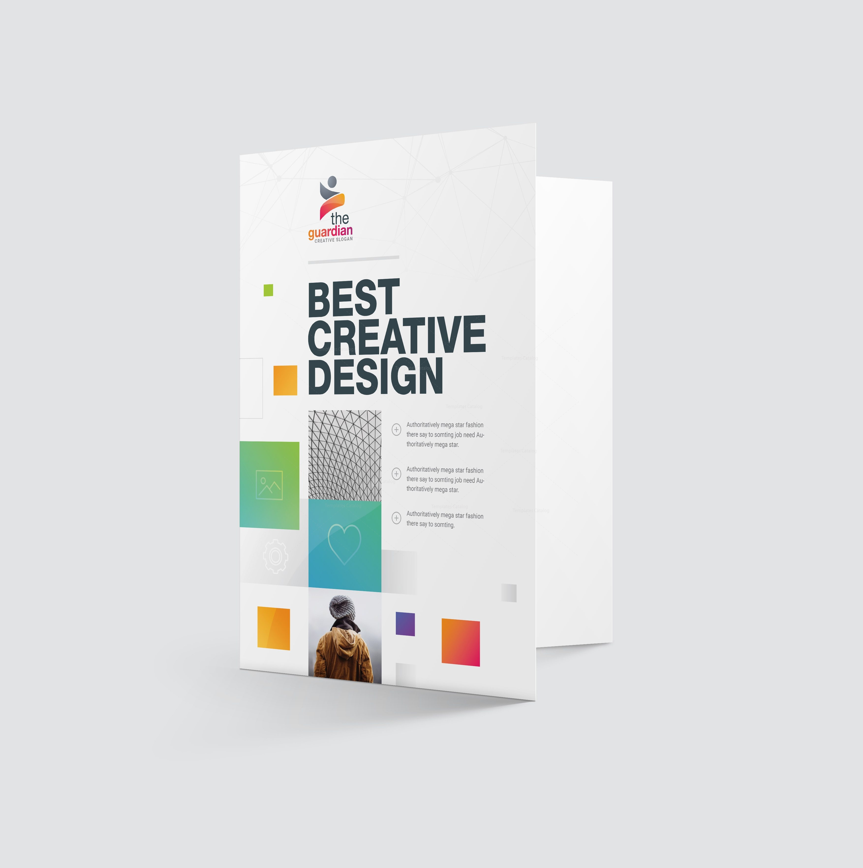 Best Creative Presentation Folder Template Template Catalog - Fresh presentation folder template psd design