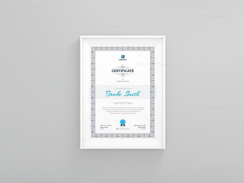 Best seller professional certificate template 001121 template best seller professional certificate template 1 yadclub Images
