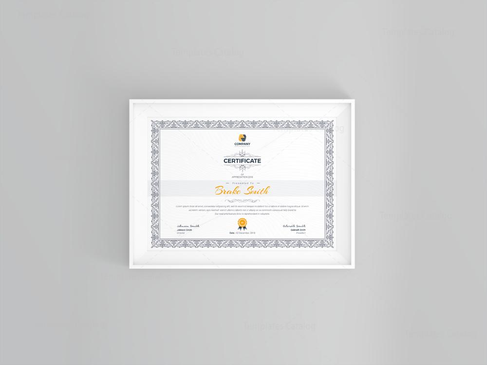 Best seller professional certificate template 001121 template best seller professional certificate template 5 yadclub Gallery
