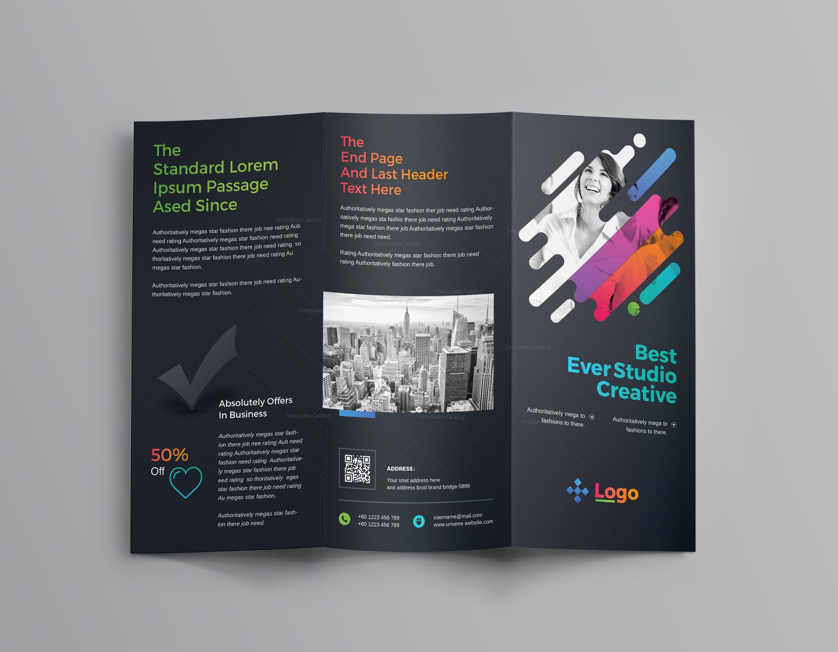 Professional Brochure Geccetackletartsco - Professional flyer templates