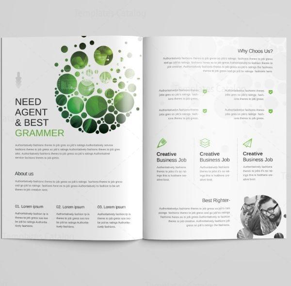 Cyclone Professional Bi-Fold Brochure Template 2