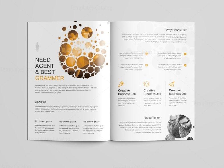 Cyclone Professional Bi Fold Brochure Template 001098 Template Catalog