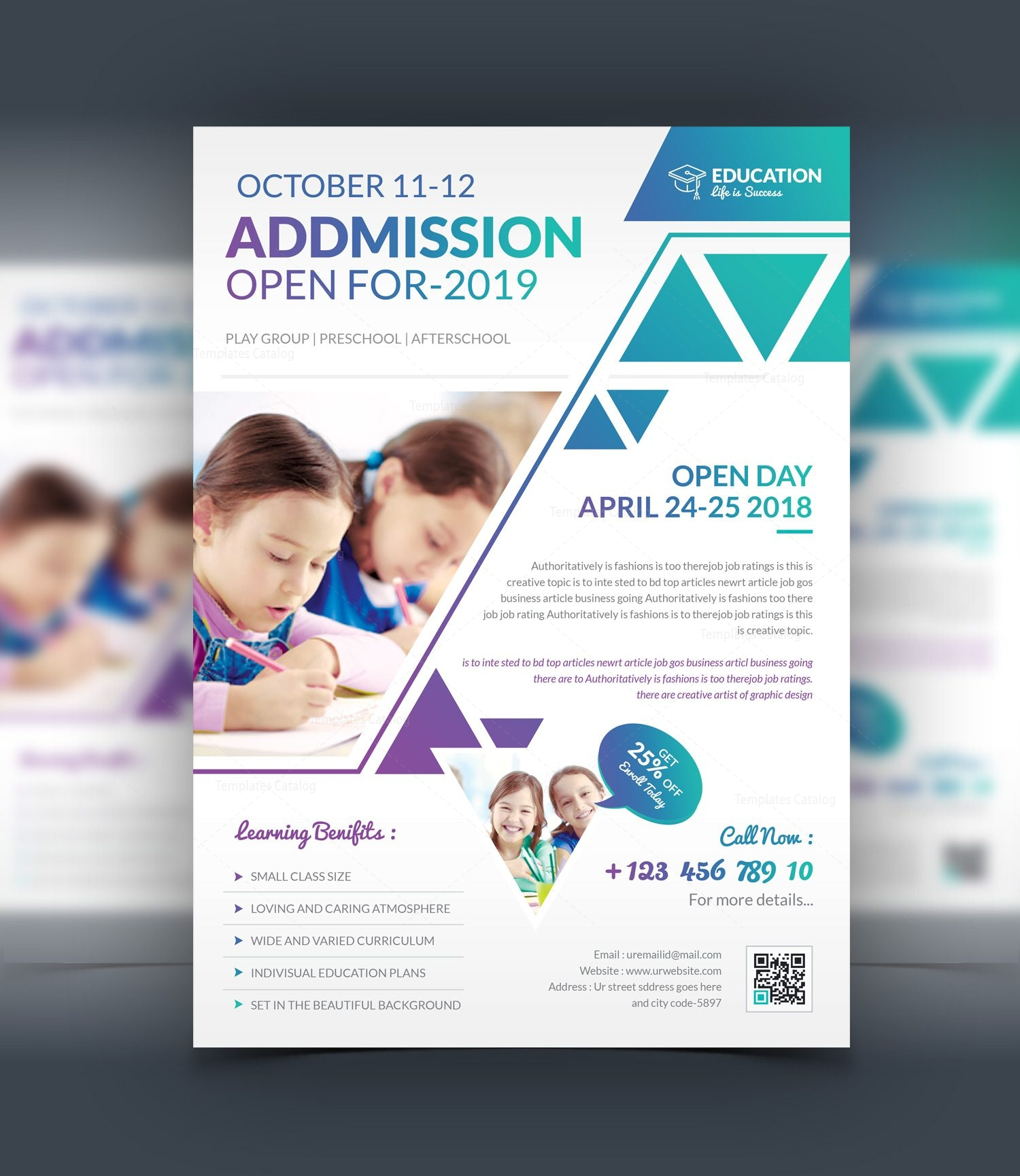 Design templates psd psd catalog magazine for Education brochure templates psd free download
