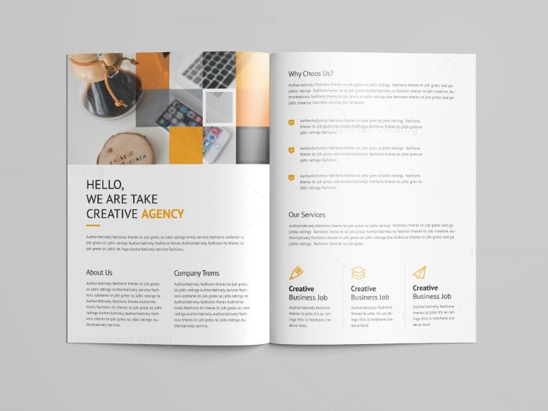 Goddess Professional Bi Fold Brochure Template 001092 Template Catalog