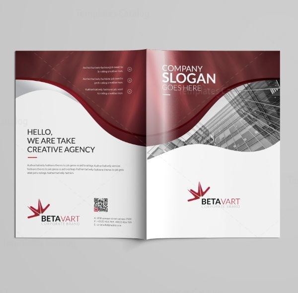 Halley Professional Bi-Fold Brochure Template 7