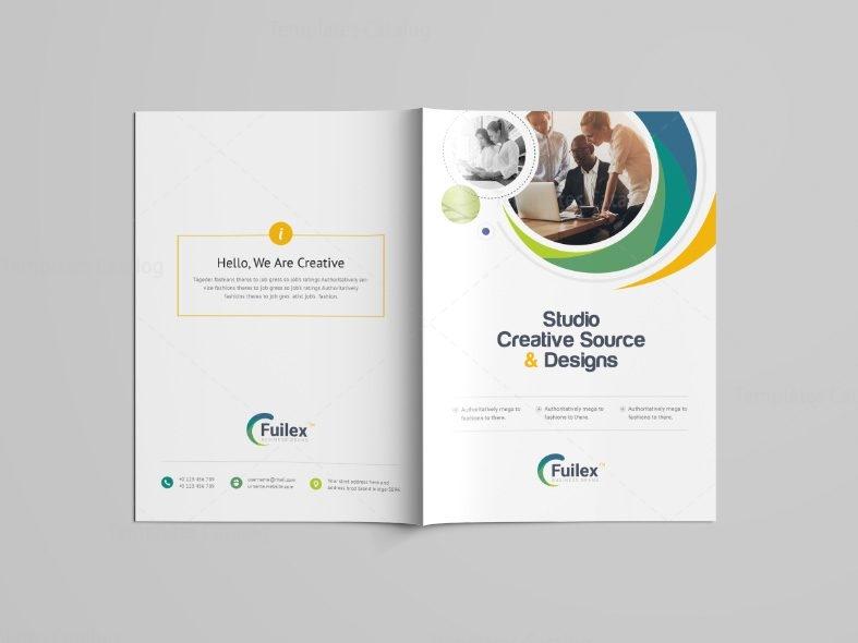 Hypnosis Professional Bi Fold Brochure Template 001101 Template