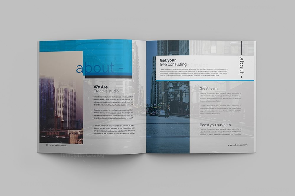Innovation professional 16 pages square magazine template 001107 innovation professional 16 pages square magazine template 3 cheaphphosting Images