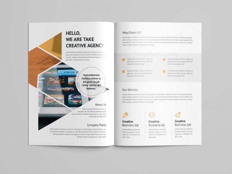 6 fold brochure template - jupiter professional bi fold brochure template 001087