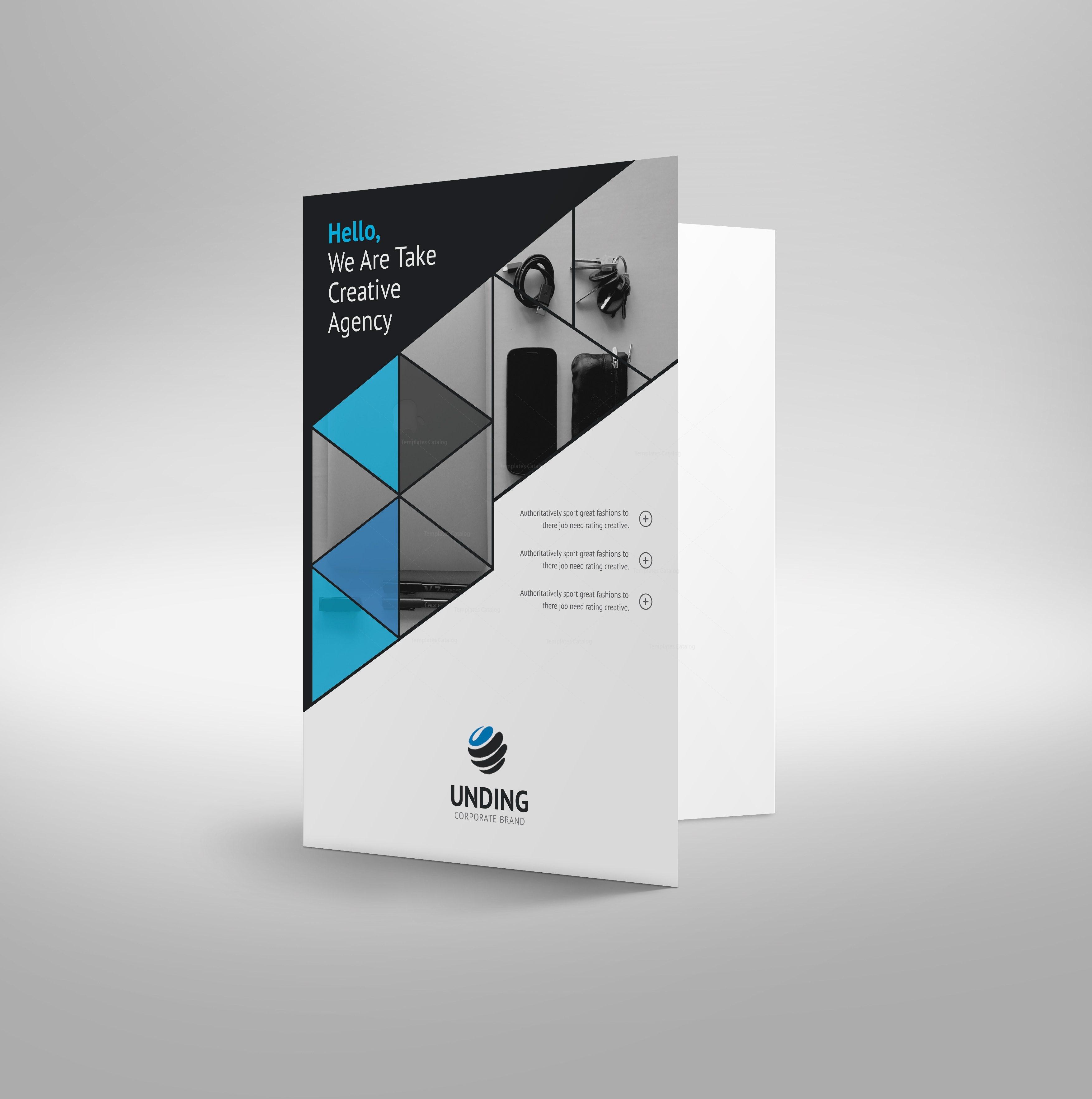 Mars Elegant Corporate Presentation Folder Template 001189 ...