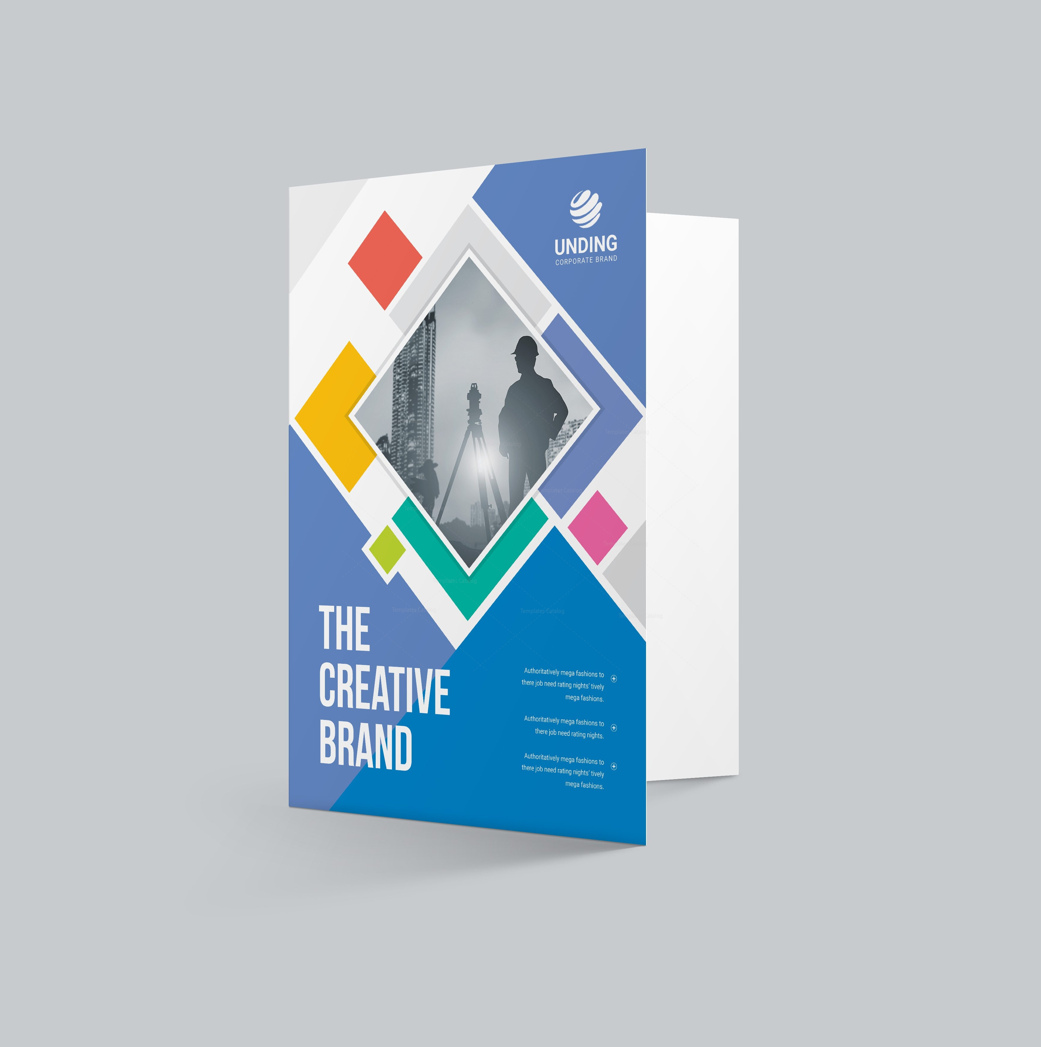 Neptune Professional Corporate Presentation Folder Template - Fresh presentation folder template psd design