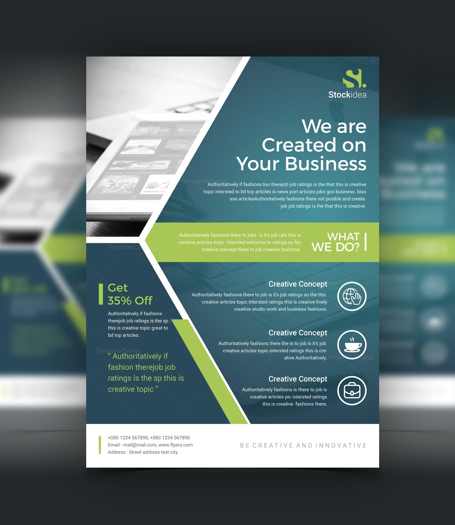 professional business flyers